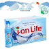 thùng nước uống kiềm ion life 24 chai 450 ml- NUOC UONG ION LIFE 450 ML