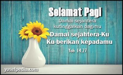 Ucapan selamat pagi Kristen terbaru