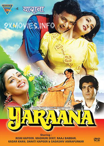 Yaraana 1995 Hindi 480p HDRip 350mb