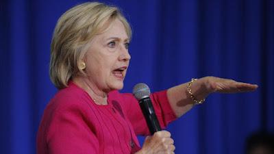 La candidata demócrata a la Presidencia de EE.UU., Hillary Clinton.