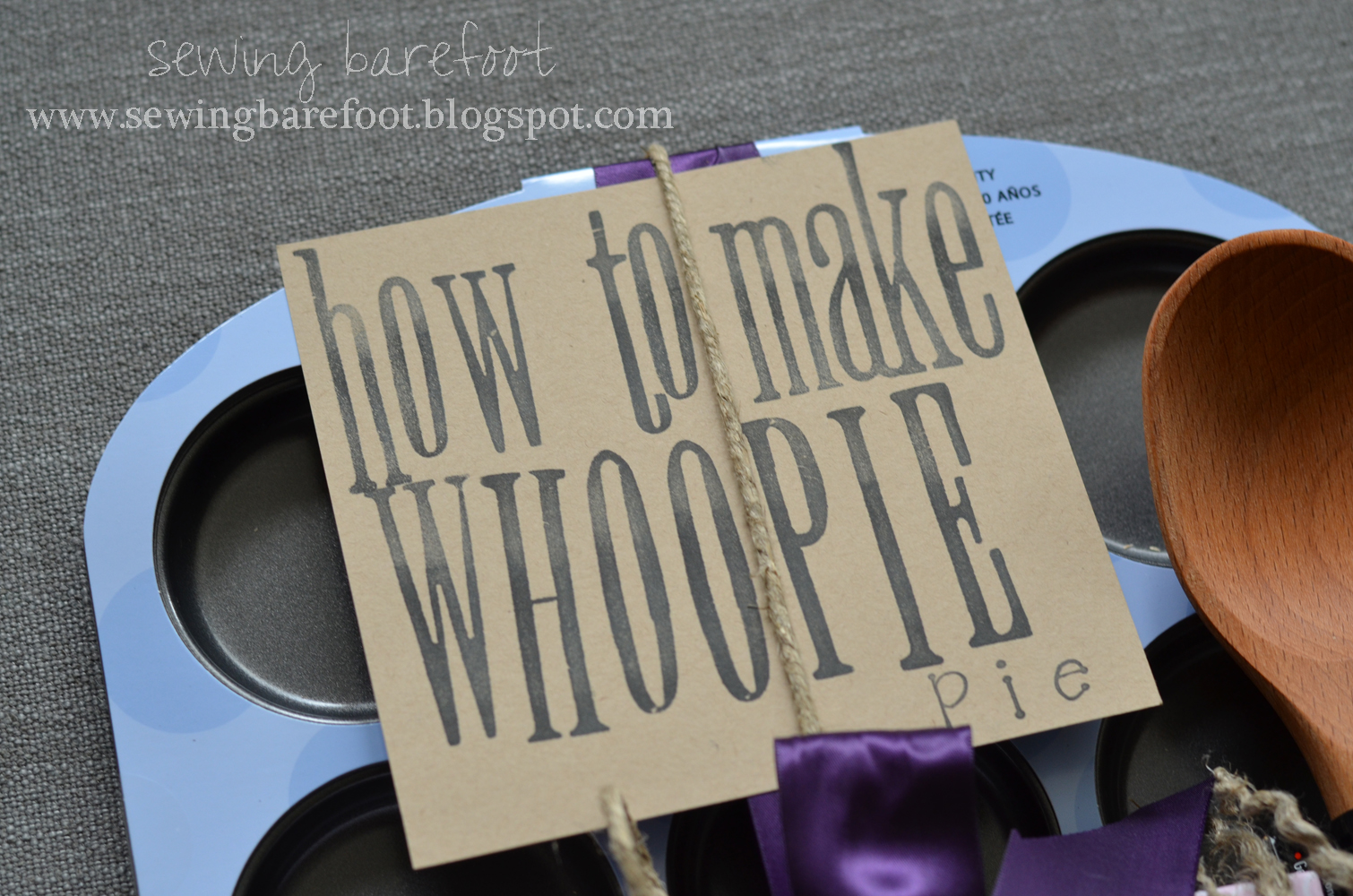 "Sewing Barefoot: ""how To Make Whoopie"": An Adorable Bridal"