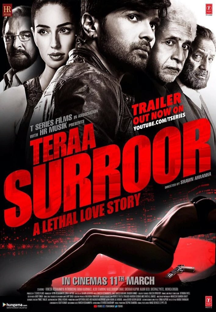 Bollywood movie Teraa Surroor Box Office Collection wiki, Koimoi, Teraa Surroor cost, profits & Box office verdict Hit or Flop, latest update Budget, income, Profit, loss on MT WIKI, Bollywood Hungama, box office india