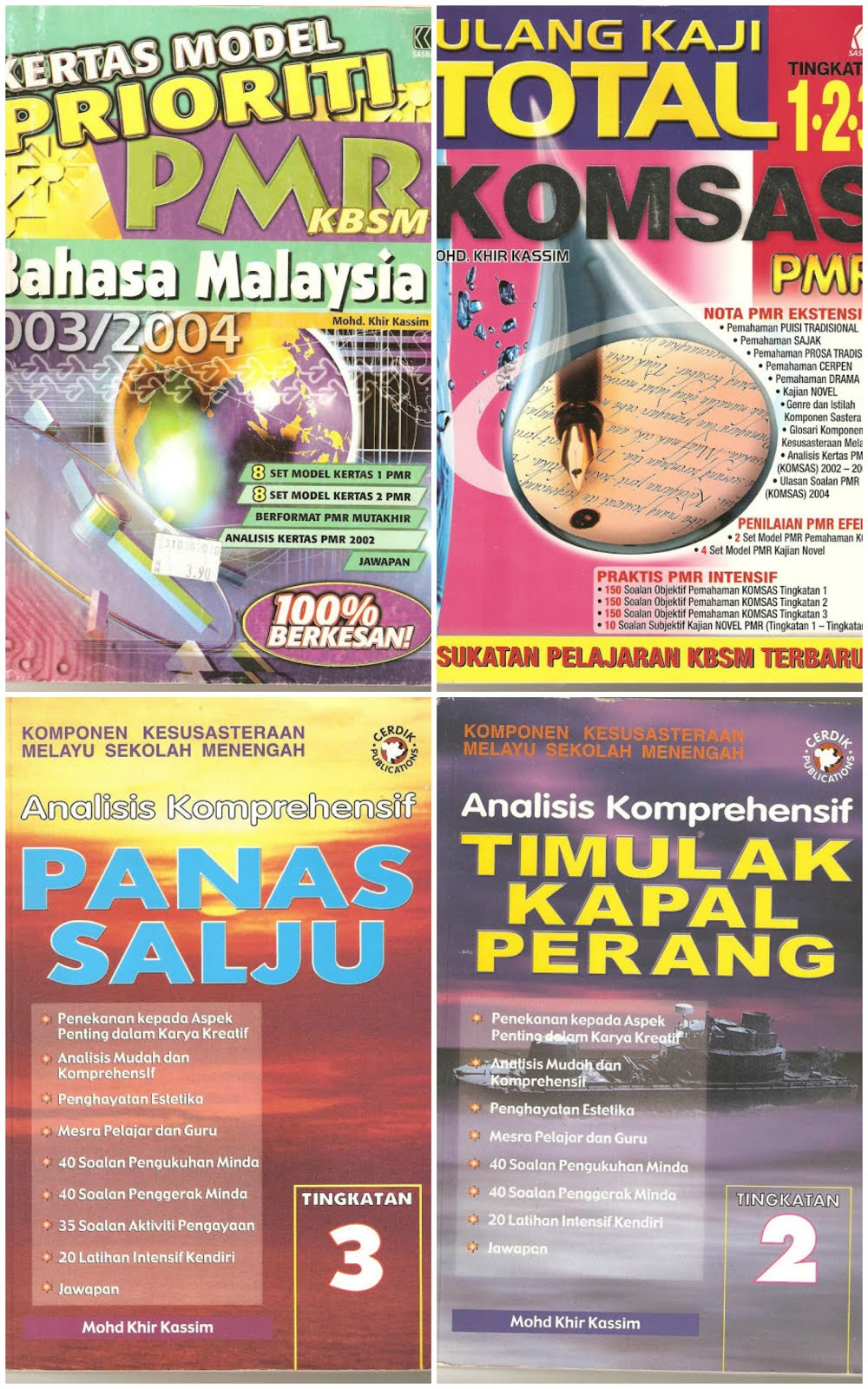 Buku Model Prioriti 2003/Buku Total Komsas PMR 2005