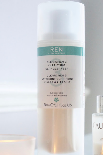 Ren Clearcalm clay cleanser