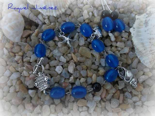 pulsera azul
