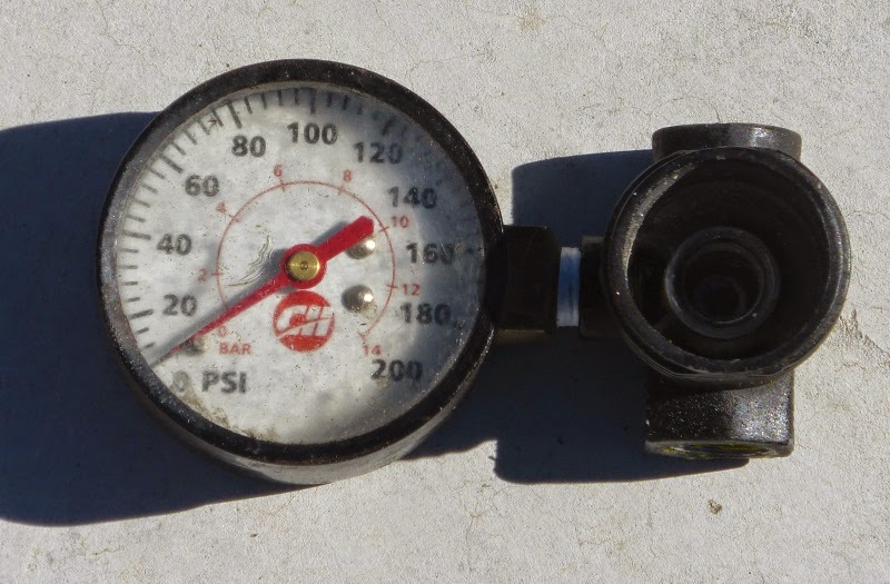 destroyed regulator dial