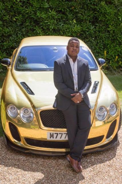 A los 19, pasó de empleado a millonario con un Bentley