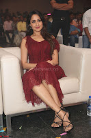 Pragya Jaiswal in Stunnign Deep neck Designer Maroon Dress at Nakshatram music launch ~ CelebesNext Celebrities Galleries 133.JPG