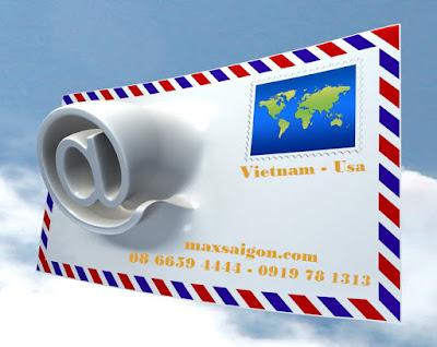 Gửi thư, tài liêu đi Mỹ giá rẻ an toàn đảm bảo nhất