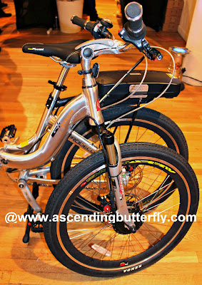 ProdecoTech Electric Bicycles Close Up on display at The Luxury Technology Show New York City March 2015