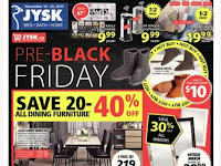Jysk flyer this week November 16 - 22, 2017