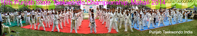 inauguration 16th Punjab State Taekwondo Championship- Aug 2014, Mohali near Chandigarh, under the supervision of Master Satpal Singh Rehal of Tkd Academy of Punjab for Martial Art Training Classes