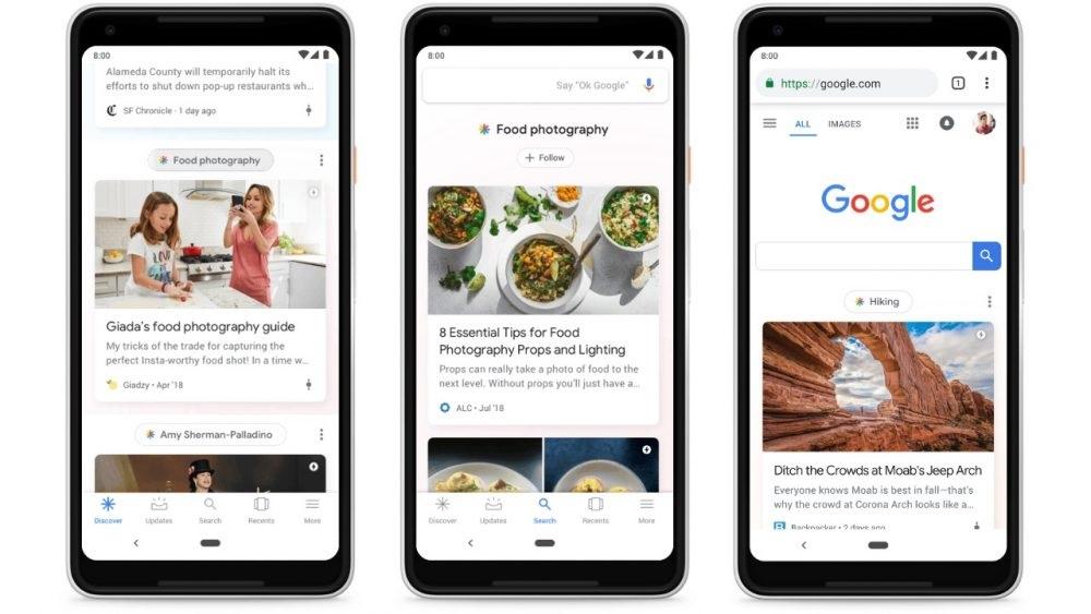 La Consola de búsqueda de Google agrega el informe Discover