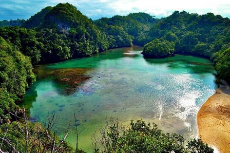 tempat wisata segara anakan pulau sempu malang