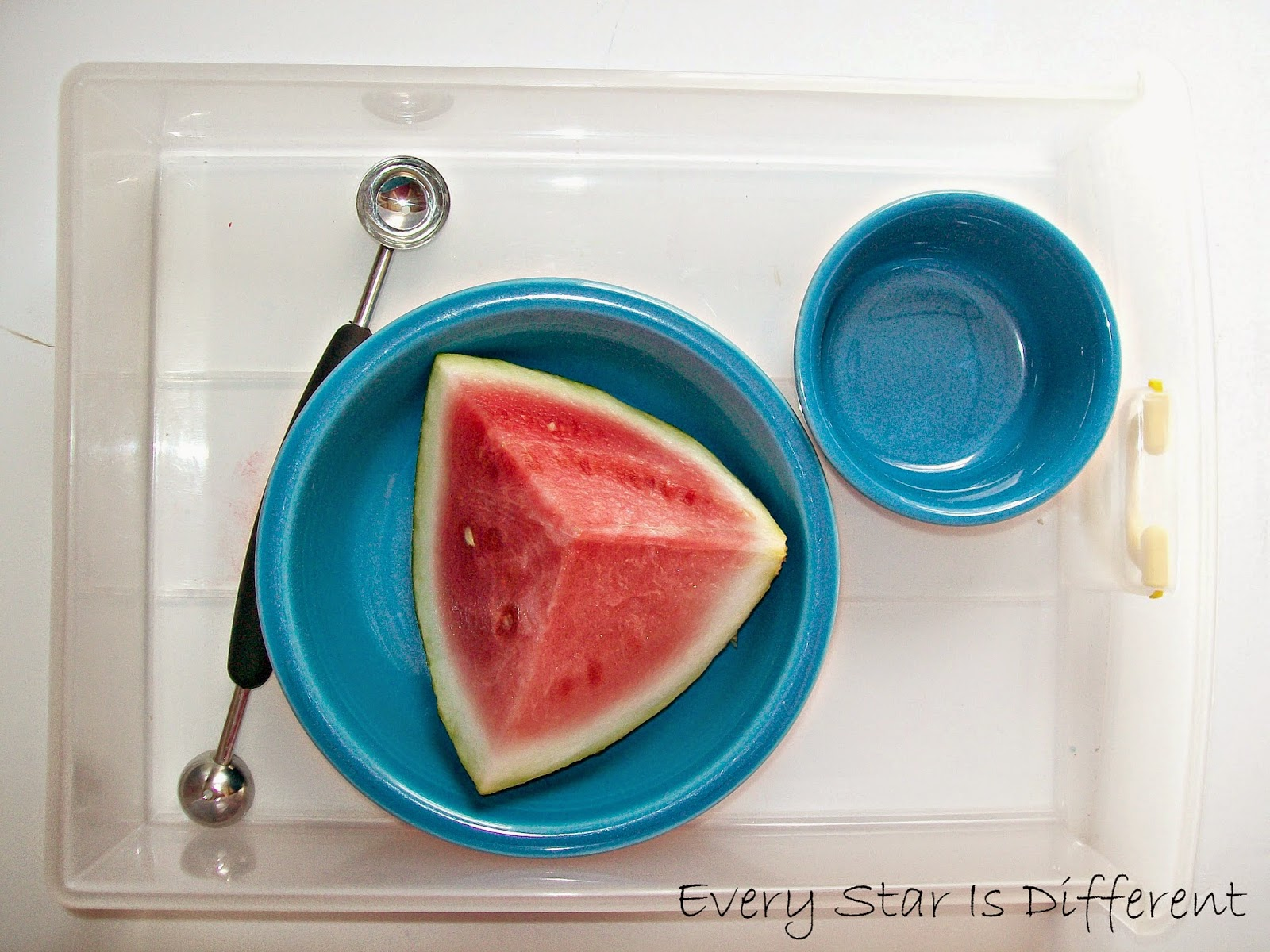 Watermelon Balling Activity for Kids