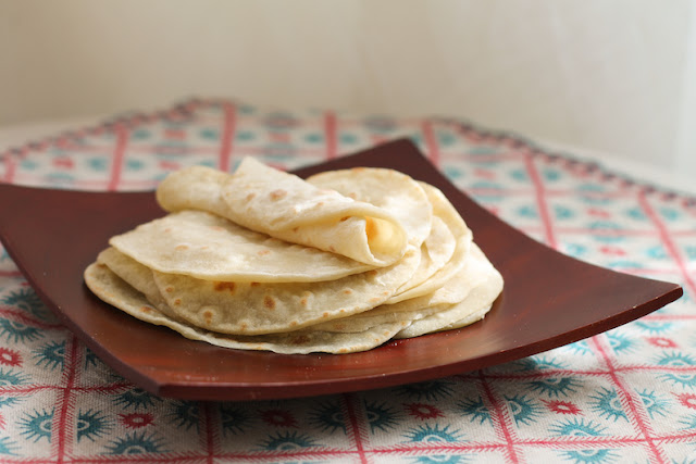 Food Lust People Love: Moo shu pancakes, aka Chinese pancakes or Peking doilies, are traditionally served rolled up with a filling of crispy Peking duck, cucumbers and spring onions. They are easy to make, with only two ingredients.