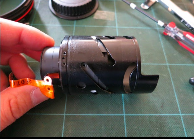 how to Disassemble Canon 35-350mm Lens