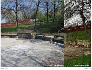 Izvoare str budiului, Tirgu-Mures - Then and Now