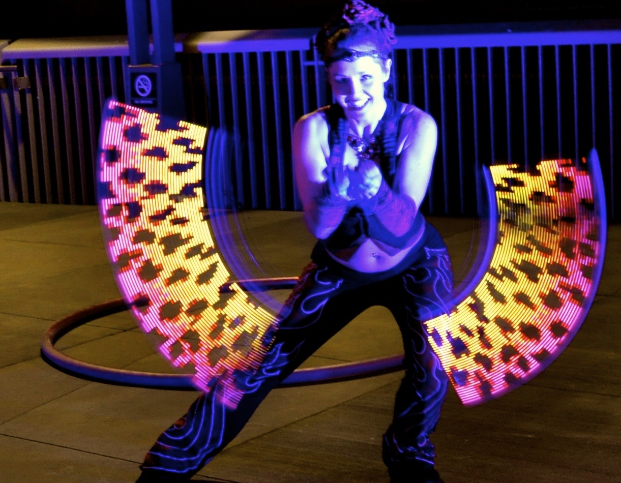 Professional Led Dancing Ignis Pixel Poi Cyr Wheels And The Dancingledchristmaslightcircuit Me With My Supernova Not So Fancy But Still Awesome