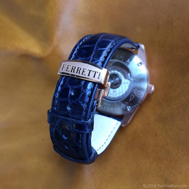 Ferretti Timepieces Amerigo maiolica watch clasp