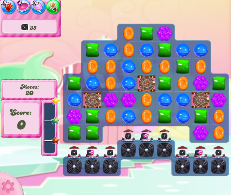 Candy Crush Saga level 2798