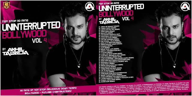 Uninterrupted Bollywood Vol.4 (2017) – DJ Akhil Talreja