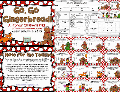 http://www.teacherspayteachers.com/Product/Go-Go-Gingerbread-A-Pronoun-Christmas-Pack-1022964