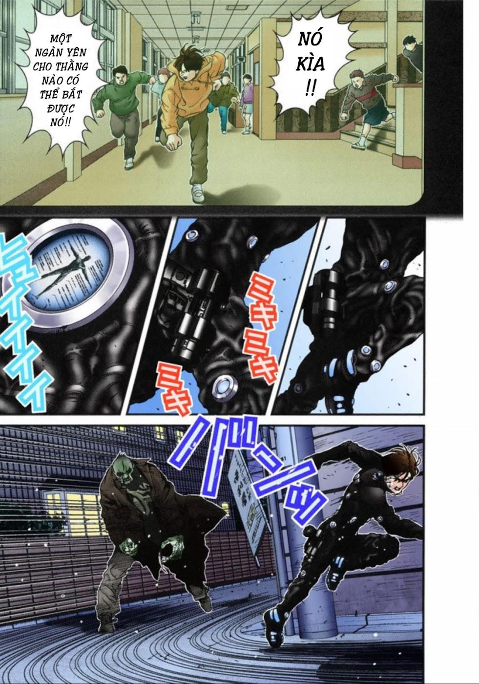 Gantz Chap 15: Nhảy hoặc chết trang 3