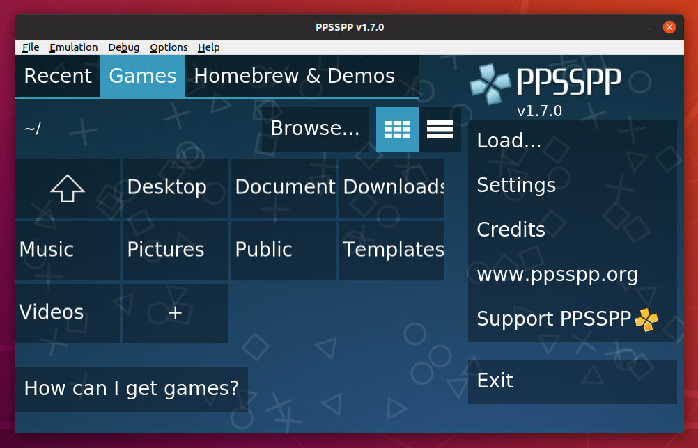 How to Install PPSSPP 1 7 in Ubuntu 18 04, 18 10, 16 04, 14 04