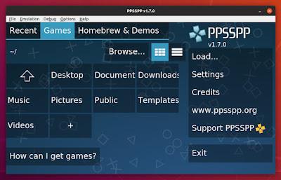 PPSSPP Ubuntu