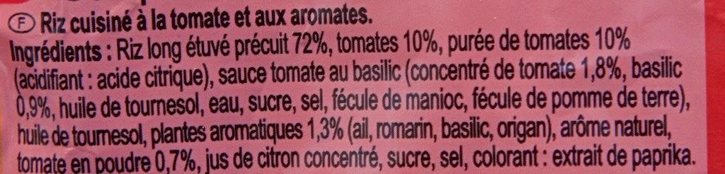 Plat préparé Carrefour - Riz à la Méditerranéenne - Doypack - Riz à la tomate - Dîner