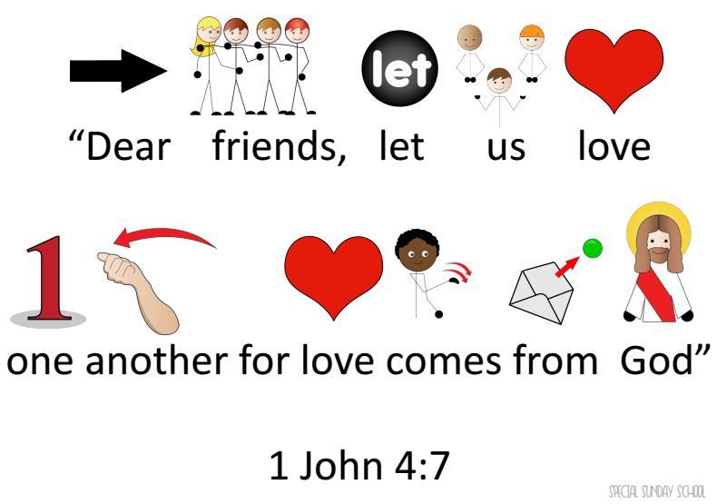 Special Sunday School Symbol Verses