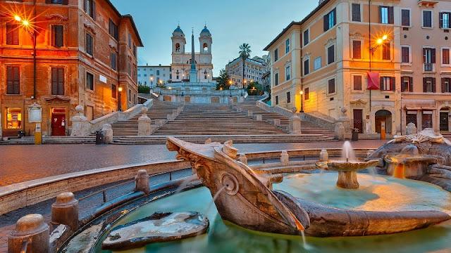 Piazza di Spagna em Roma