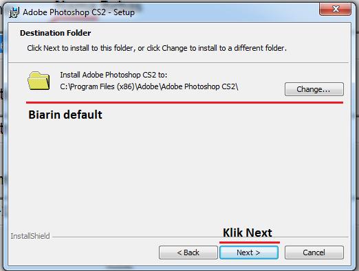 Cara Instalasi Adobe Photoshop CS2 6