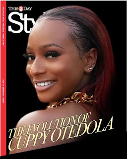 DJ Cuppy Covers 'This Day' Magazine (PHOTO)