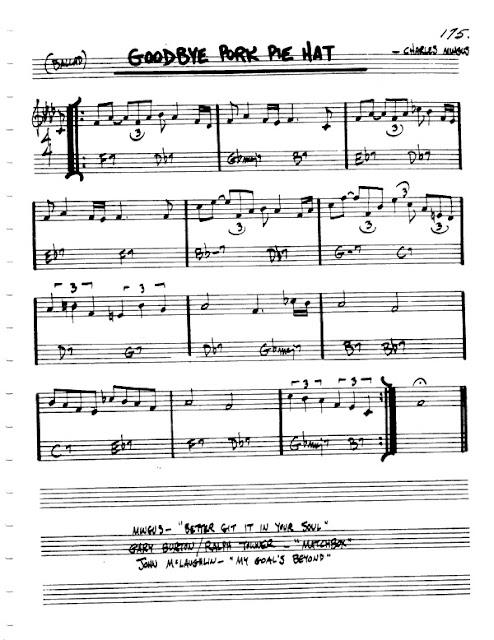 Partitura Flauta Charles Mingus