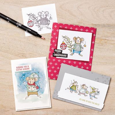 Stampin' Up! Merry Mice -- 25% Off in November 2016