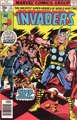 Invaders #32, Thor