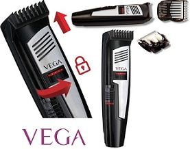 Vega T-Comfort VHTH-07 Trimmer For Men for Rs.949 with 2 Yrs Warranty @ Flipkart