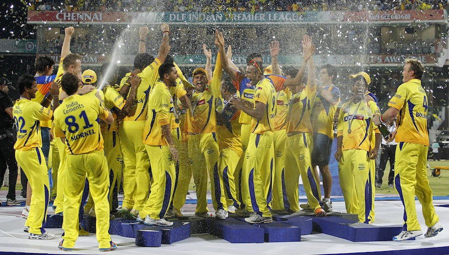 CSK is unstoppable |Should Win IPL 2012 with ease |Update- JINX