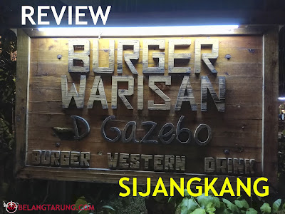 Review Burger Warisan Sijangkang