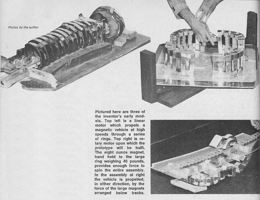 ba66bbd34ee Perpetual Motion in the 21st Century  The Howard Johnson Magnet Motor
