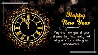 Kata Kata Ucapan Selamat Tahun Baru 2019 (Happy New Year 2019) Bahasa Inggris dan Artinya