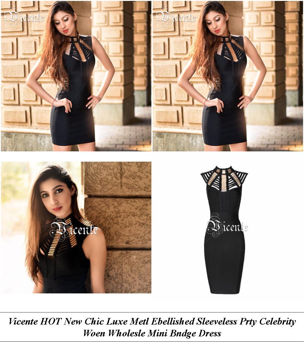 Vintage Dresses - Winter Clothes Sale - Lace Dress - Cheap Clothes Online Uk