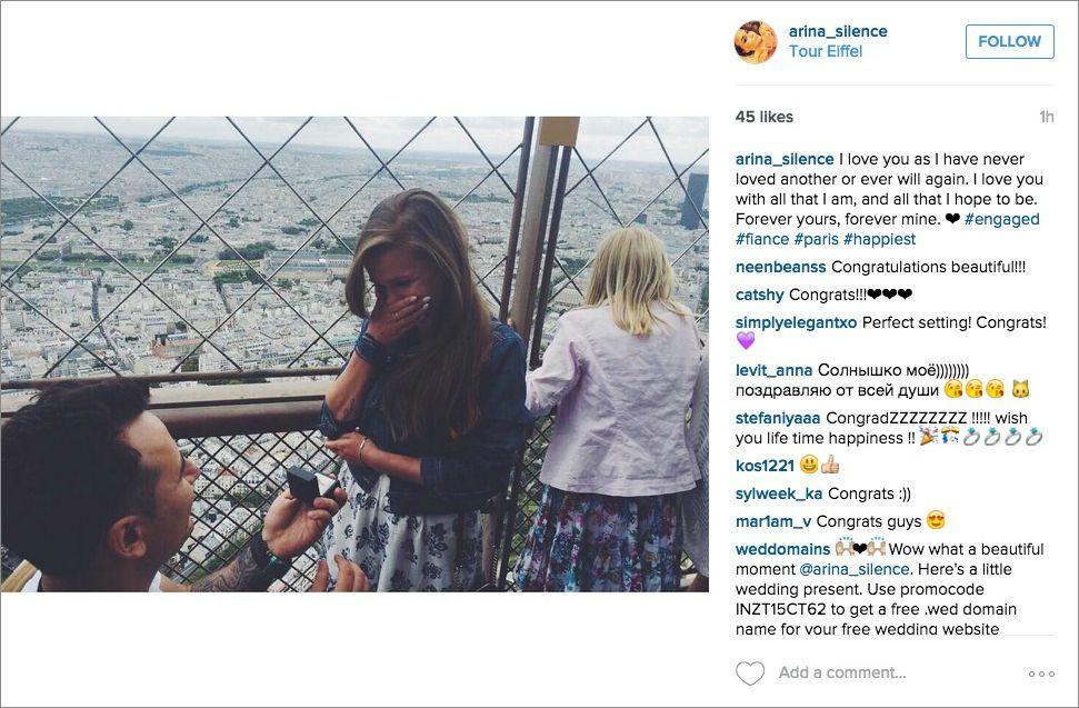 Los Wedding Vendors Usan Comentarios De Instagram Para Atraer