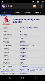 Cara Mengecek / Melihat Tipe GPU di HP Android Menggunakan CPU - Z