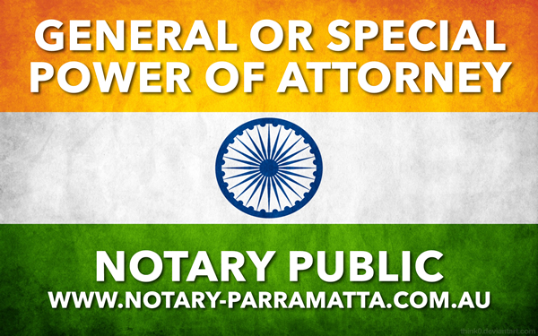 General Power of Attorney - Special Power of Attorney