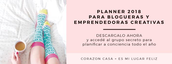 Mirá todos los detalles del Planner para Blogueras y Emprendedoras Creativas