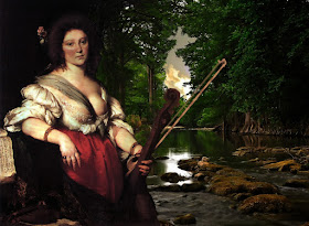 Believed to be Barbara Strozzi, painted by Bernado Strozzi c.1630-1640