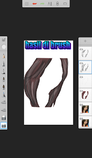Tutorial rambut smudge painting android